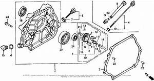 Honda Engines Gx340 Qxc Engine  Jpn  Vin  Gc05