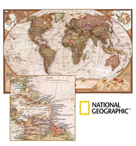 san bartolo murals national geographic world executive ngs buy antique look world map mapworld