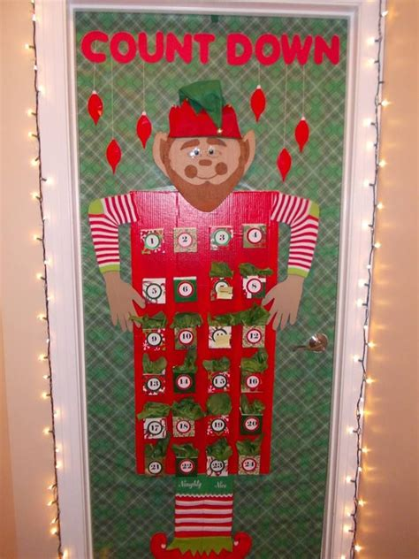 count down to christmas by jenell yearwood office door