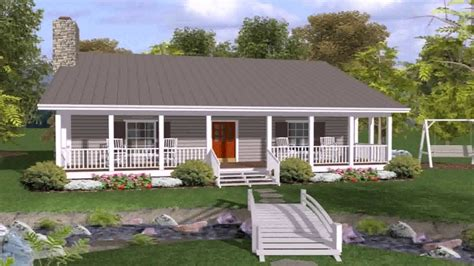 ranch house plans with front and back porch luxamcc