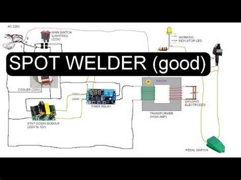 Spot Welder Wiring Diagram Youtube