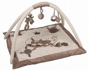 Tapis Eveil Garcon : nattou tapis d 39 eveil avec arches max noa et tom ~ Teatrodelosmanantiales.com Idées de Décoration