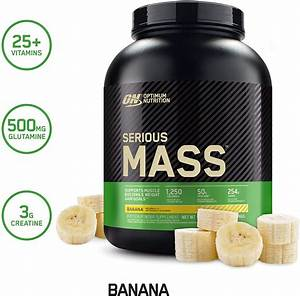 Optimum Nutrition Serious Mass Weight Gainer Protein Powder  U2013 Weclickshop Com