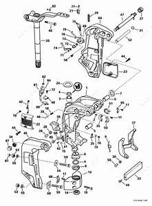 Evinrude 1999 115 - E115fpxeen  Midsection