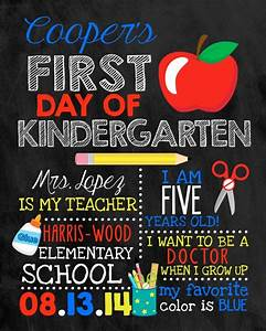 first day of school sign chalkboard sign by With first day of school sign template