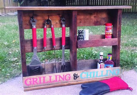 grilling shelf   pallet wood  pallets