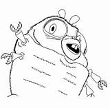 Cockroach Coloring Pages Animals Printable Sheet sketch template