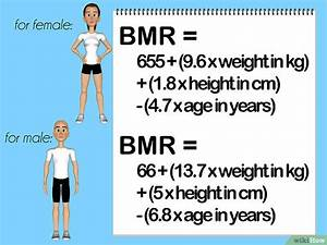 Körperfettanteil Berechnen Formel : die verbrauchten kalorien pro tag berechnen wikihow ~ Themetempest.com Abrechnung