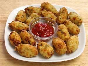 Potato Paneer Tots Manjula's Kitchen Indian Vegetarian