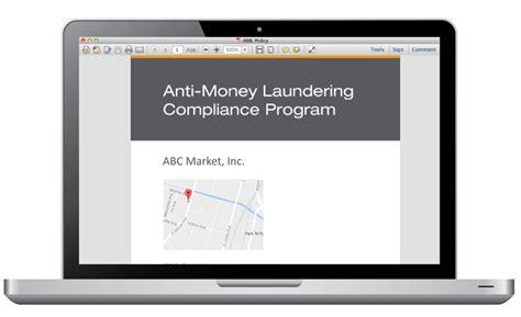 Anti Money Laundering Compliance Program Policies And Aml Compliance Program Anti Money Laundering Compliance