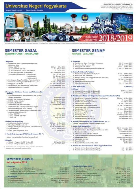 kalender akademik uny  uny community