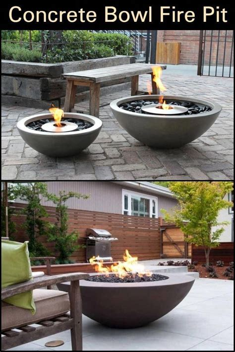 Mark concrete uses 40 years of experience to create concrete outdoor fire pits that are both functional and beautiful! DIY Concrete Fire Pit | The Owner-Builder Network | Concrete fire pits, Fire pit backyard ...