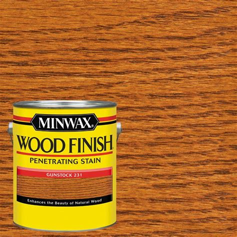 wood interior doors home depot minwax 1 gal wood finish gunstock based interior