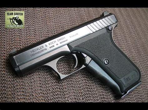hk p psp squeeze cocker mm pistol youtube
