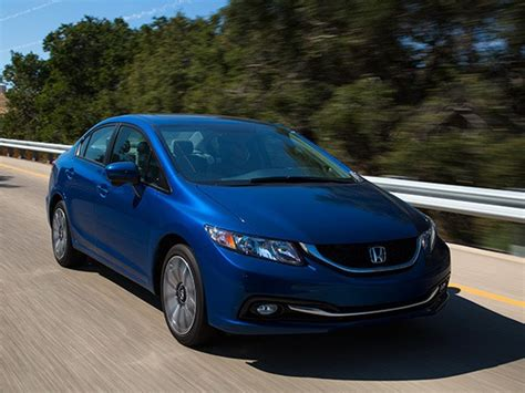 Compact Car Comparison 2015 Honda Civic  Kelley Blue Book