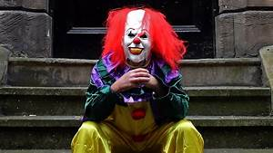'Killer clown' craze: Teenager fined for intimidating ...  Killer