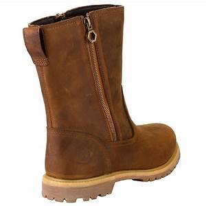 Timberland EK Nellie Double Zip Leder Boots Damen Stiefel