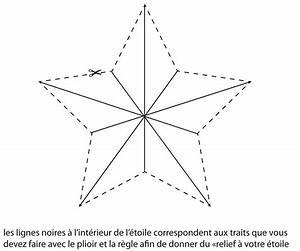 Comment Faire Une étoile En Papier : etoile de noel en papier ~ Nature-et-papiers.com Idées de Décoration