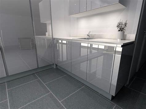 3 fr cote cuisine cuisine armony nanterre modèle t16 verre blanc brillant