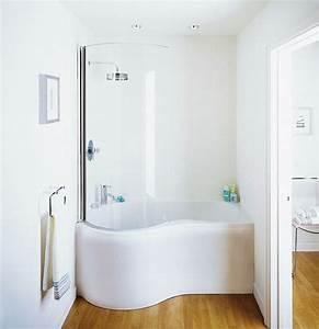 Badewanne Mit Dusche Kombiniert : kleine und moderne badezimmer mit badewanne freshouse ~ Sanjose-hotels-ca.com Haus und Dekorationen
