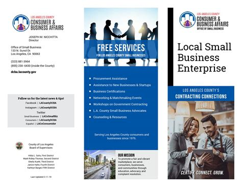local small business enterprise consumer business