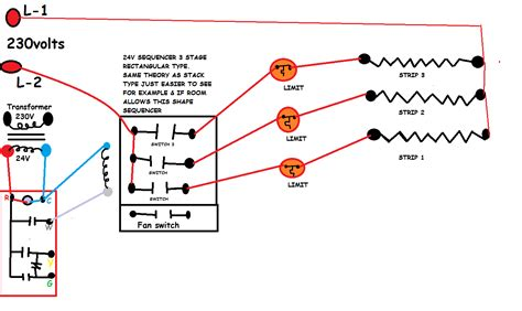 Hvac Fan Relay Wiring by I A Powermatic Furnace Combining Electricity It