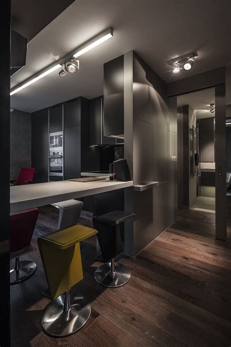 Small Apartment Interior Design Working With Just 40 Square Meter 431 Square by Small Apartment Interior Design Working With Just 40
