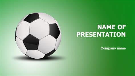 football game powerpoint template big apple templates
