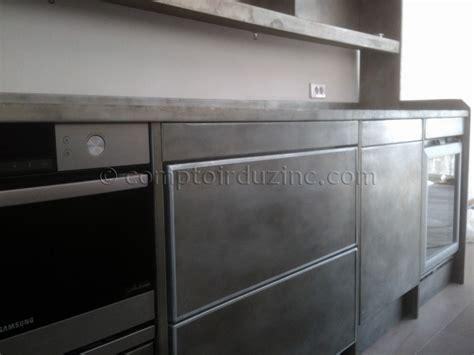 meuble cuisine bois et zinc meuble cuisine bois et zinc myqto com