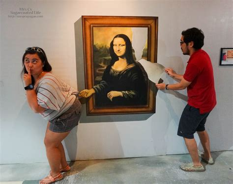 Picture, Picture At The Trick Art Museum In Manila Ocean