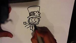 How To Draw A Leprechaun - Drawing For Beginners
