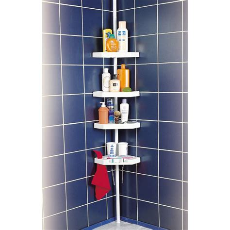 etagere angle salle bain