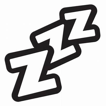 Sleeping Zzzz Clipart Transparent Webstockreview
