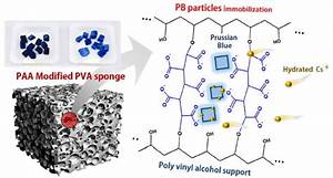 Immobilization Of Prussian Blue Nanoparticles In Acrylic