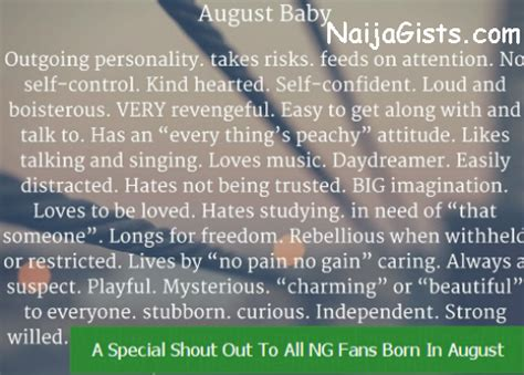 Happy Birthday To All Fans Born In AugustNaijaGists.com ...