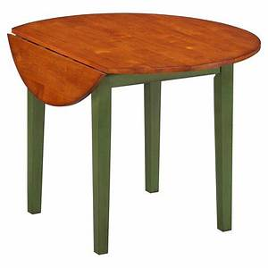Imagio Home Drop Leaf Arlington Dining Table Green And