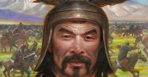 famous people  history genghis khan
