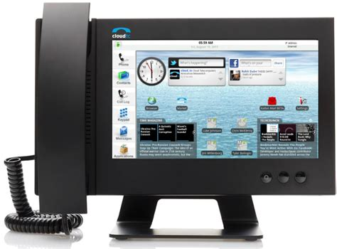 ip android cloudtc glass 1000 android ip phone adds new features