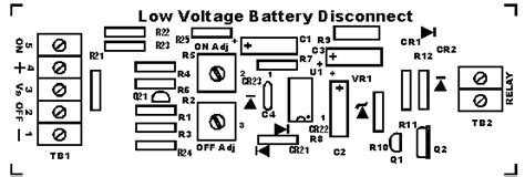 Based Low Voltage Battery Cutoff Circuit