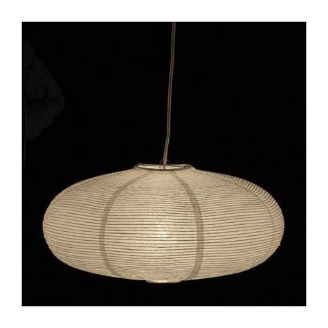 abat jour en papier de riz shiro suspensions blanc bois papier habitat
