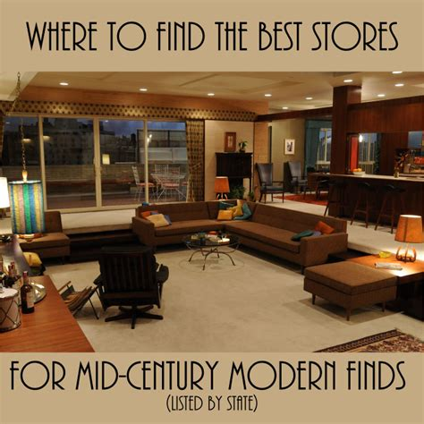 Best Stores For Midcentury Modern Finds Finds