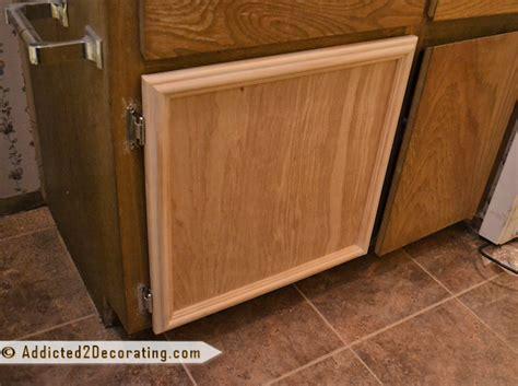 diy kitchen cabinet door makeover bathroom makeover day 3 how to make cabinet doors