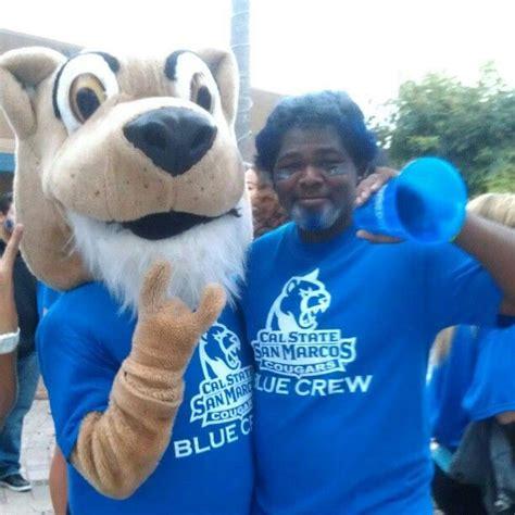 csusm cougar mascot  blue crew atcsusmsigmachis photo