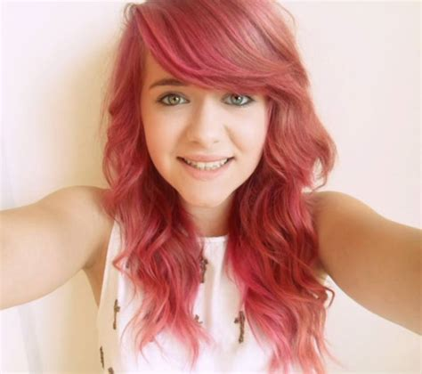 Red Hair Faded To Pink