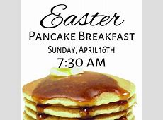 Easter Pancake Breakfast – Covenant Presbyterian Church – Reno