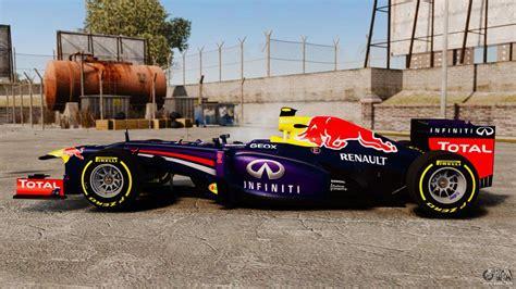 Car, Red Bull Rb9 V5 For Gta 4