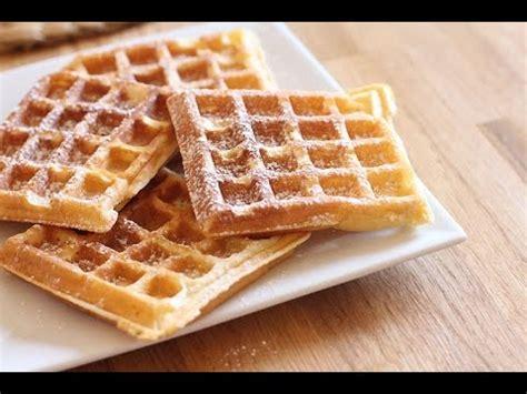 recette des gaufres fait maison easy waffles recipe mejliss