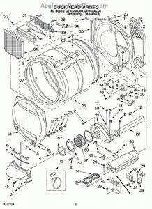 Maytag Bravos Dryer Parts Diagram