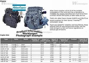 Atlas-copco Xas 77 Dd - Atlas-copco - Machinery Specifications