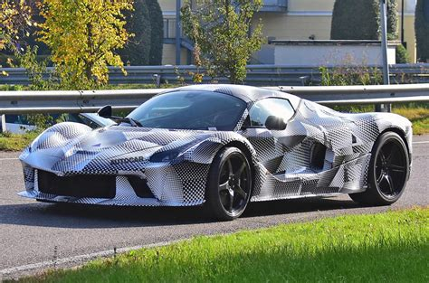 Giving it a little push just reminded me of that! Awesome Prototype Ferrari LaFerrari Spotted - Review Supercars